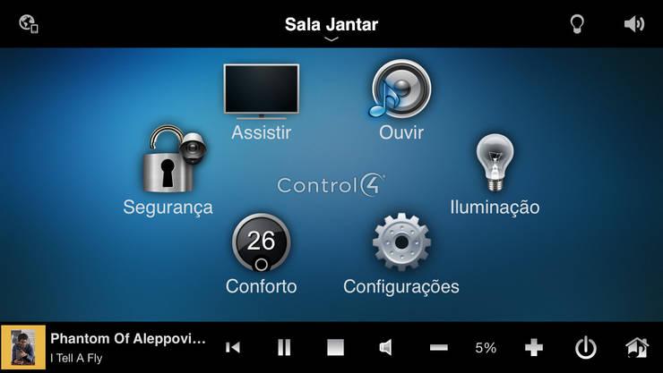 Multimedia-Raum von dome4u - domotica -  integração - engenharia