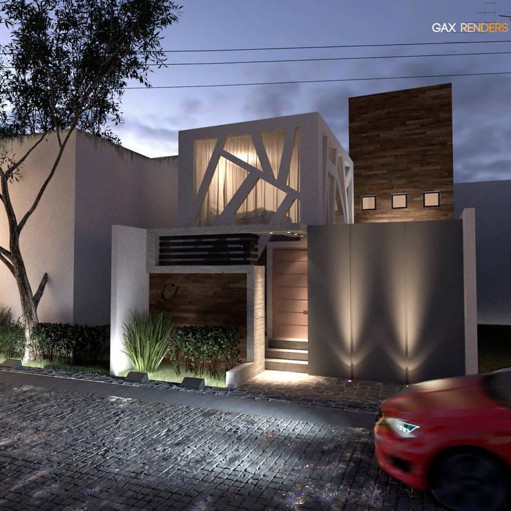 Casa Coral: Casas de estilo  por GAX Estudio de Arquitectura