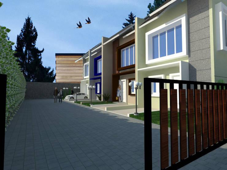 Rancang Bangun Townhouse Griya Fela, Sawangan:   by PT Intinusa Persada