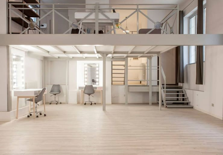 อาคารสำนักงาน ร้านค้า by Unica by Cantoni