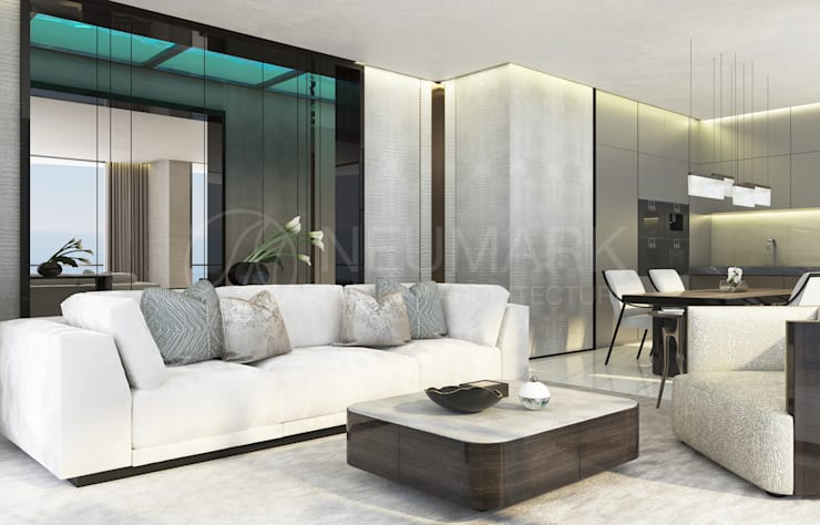 Living room by Anton Neumark, Modern