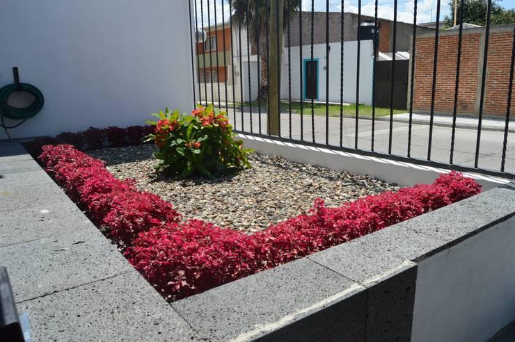 Jardines de estilo  por Zona Arquitectura Más Ingeniería