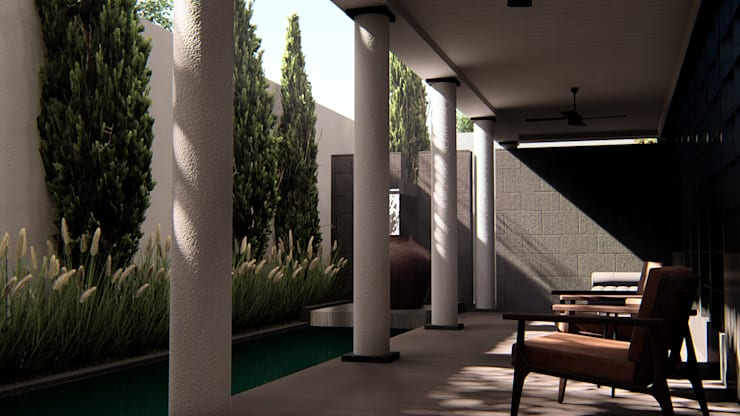 Foyer:  Teras by alexander and philips