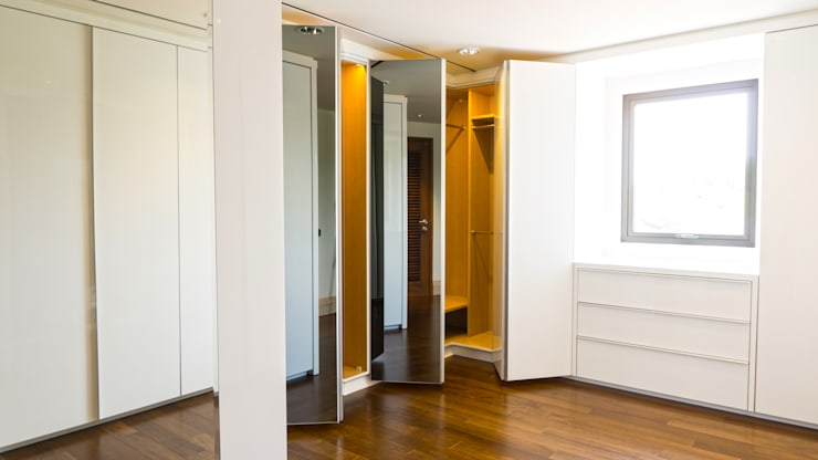 Child's Walk in Closet 2 (open 1):  Dressing room by ARF interior