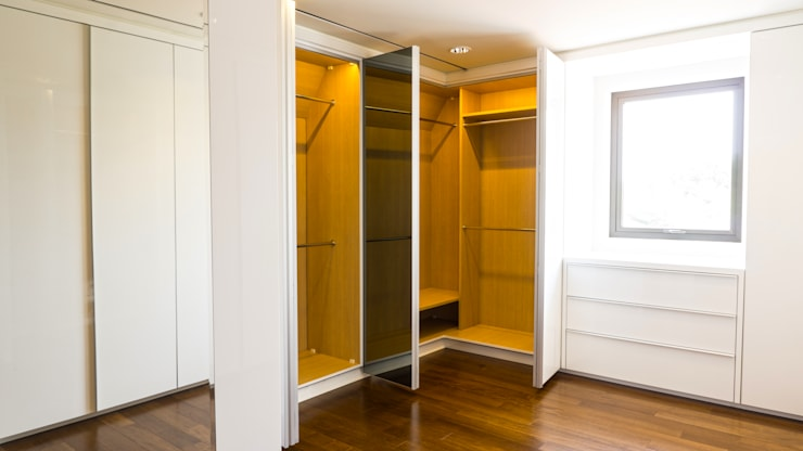 Child's Walk in Closet 3 (open 2):  Dressing room by ARF interior