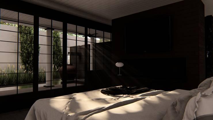 Master Bedroom:  Kamar Tidur by alexander and philips