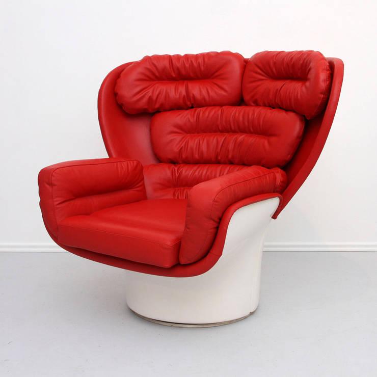 Aufgearbeitete Sessel: modern  von POLITURA Möbelmanufaktur und Polsterei in Berlin,Modern