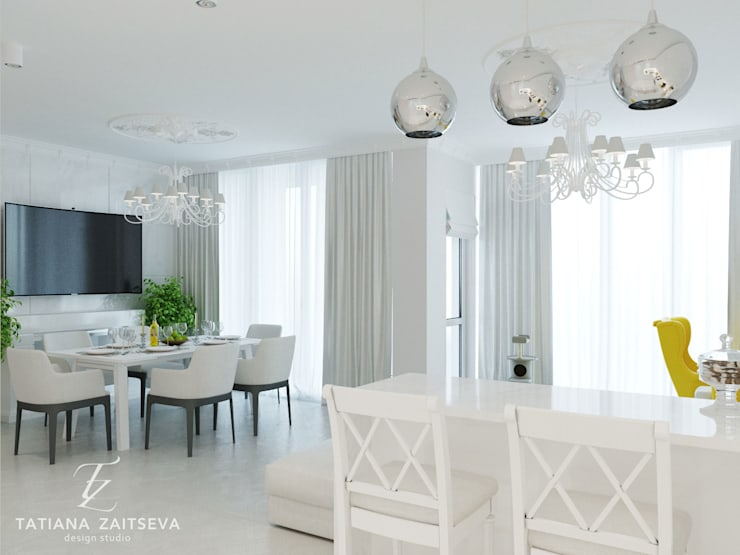 Кухни в . Автор – Design studio TZinterior group,