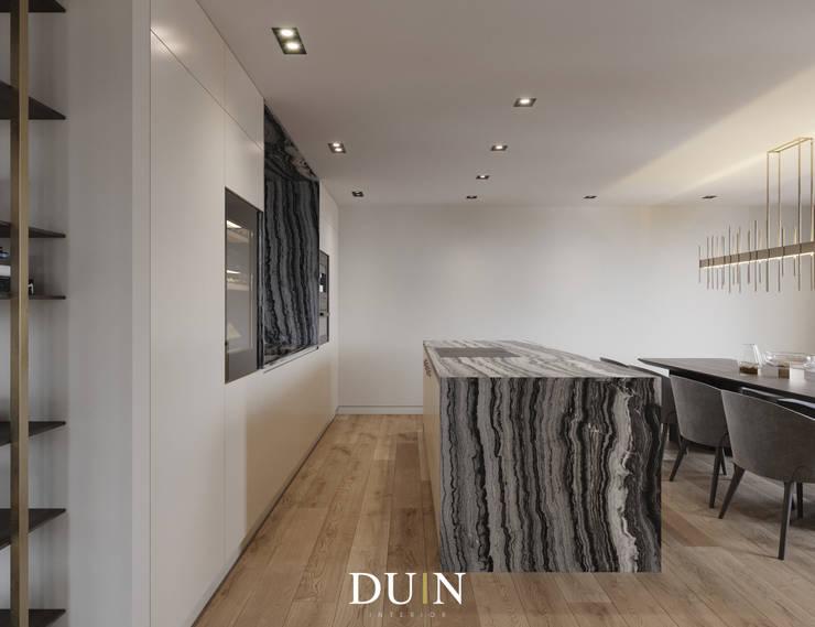 Fine Luxury Kitchen, Merckt Groningen:  Keuken door DUIN INTERIOR, Modern Marmer