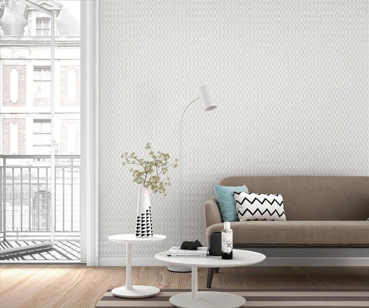 Parede e pavimento  por HannaHome Dekorasyon