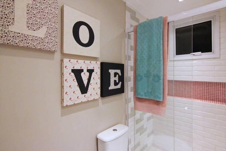 Baños de estilo  por INSIDE ARQUITETURA E DESIGN