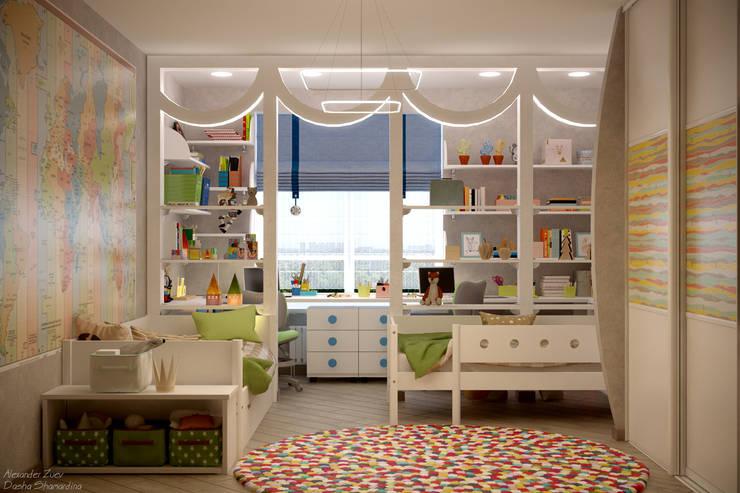 Modern Çocuk Odası Студия интерьерного дизайна happy.design Modern