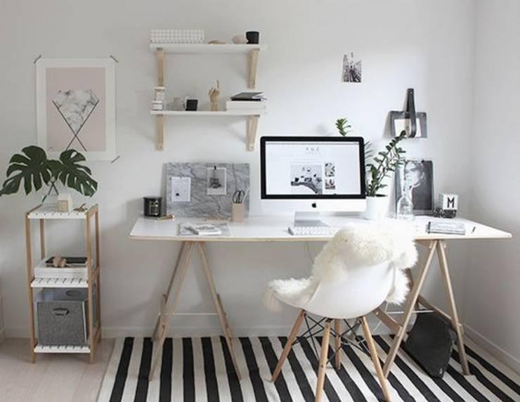 Estudio FK Arquitectura: Estudios y oficinas de estilo  por FK Arquitectura & Diseño,Minimalista
