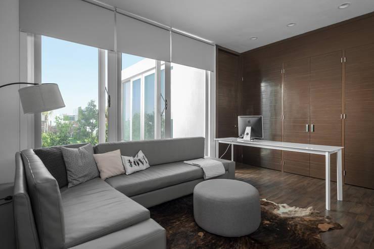 Casa Al Villa: Salas de estilo minimalista por TaAG Arquitectura