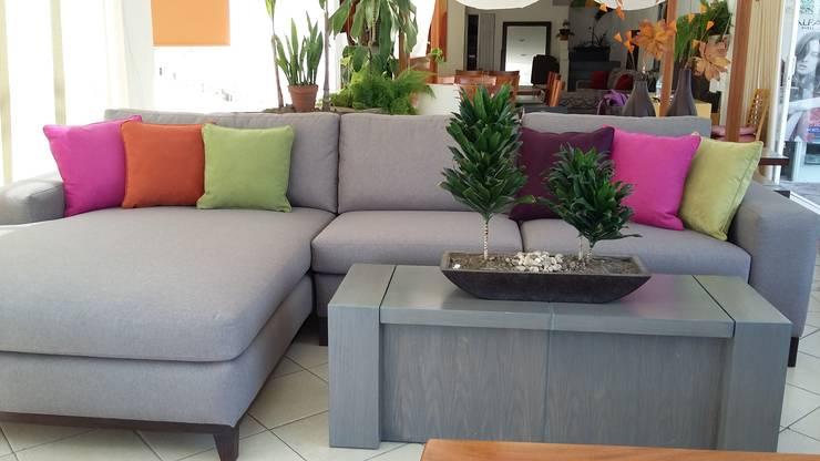 SALA: Salas de estilo  por EL DIVÁN Arquitectura & Diseño de Interiores