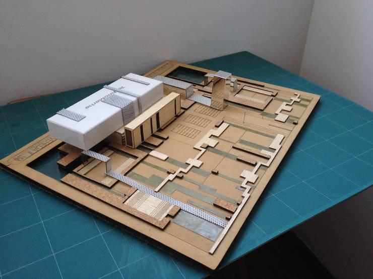 Scale Model Perspective.:  de estilo  por Gloriana Rada