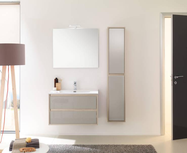 Mobile bagno sospeso: 20 idee con misure