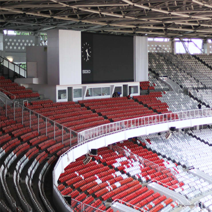 foto kursi penonton gbk:  Stadiums by PT. Datra Internusa