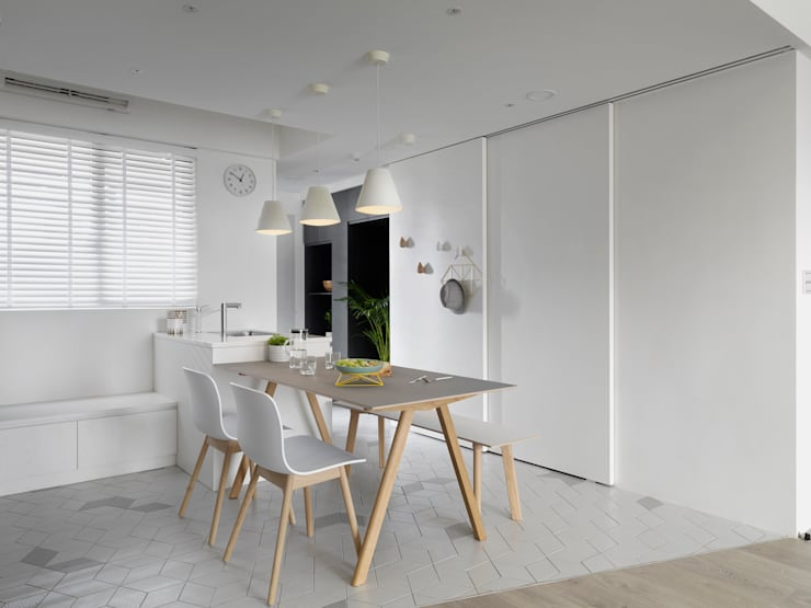 白色畫布:  餐廳 by 寓子設計