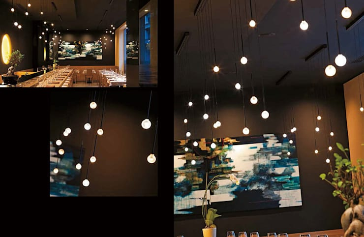 ALBUM燈具意大利進口燈具,時尚進口吊燈:  客廳 by 北京恒邦信大国际贸易有限公司
