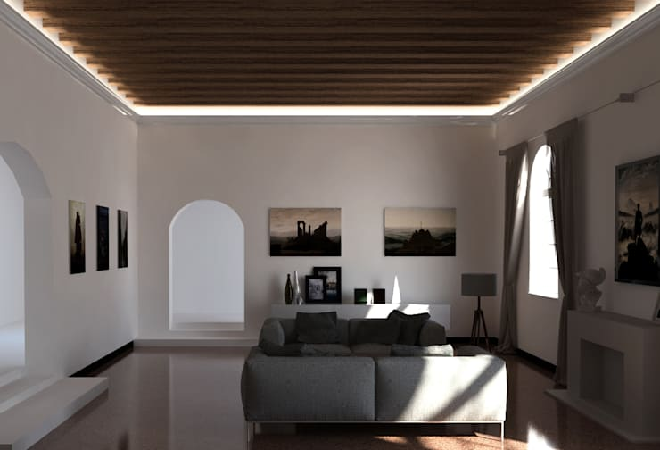 Cornici e velette per impianti d 39 illuminazione led a milano - Luci a led per interni casa ...