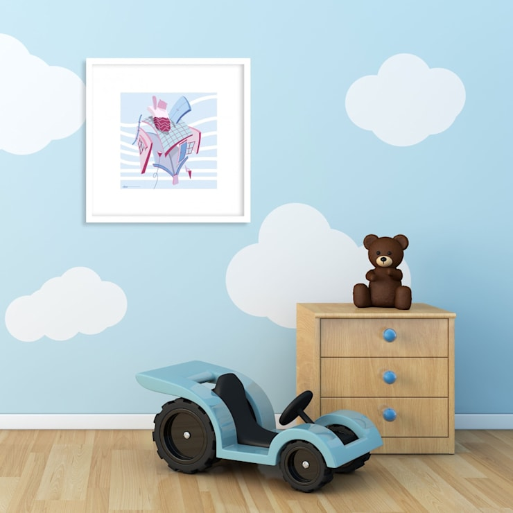 Nursery/kid's room by SPASIUM, Modern