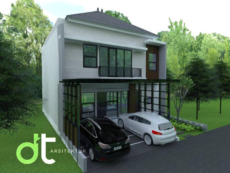PROJECT CIBINONG KABUPATEN BOGOR: Rumah oleh Rumah Desain Tropis, Modern