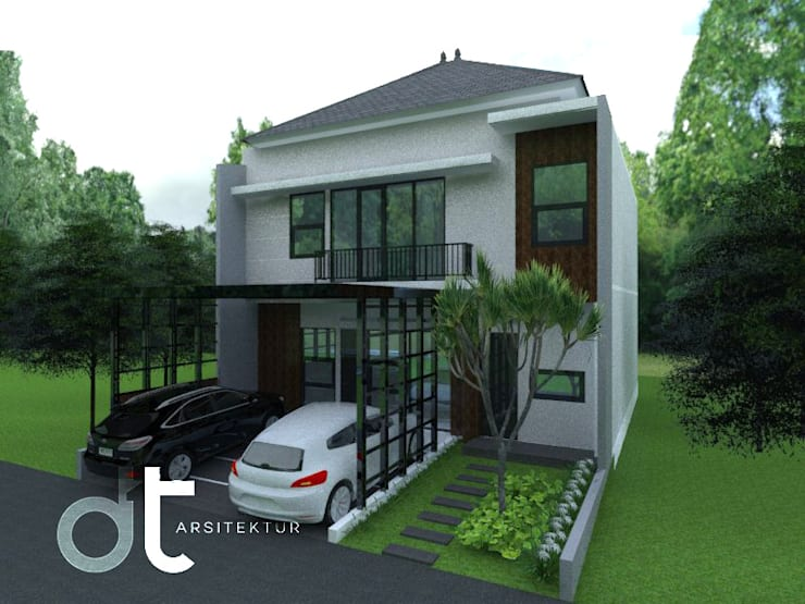 Casas de estilo  por Rumah Desain Tropis, Moderno