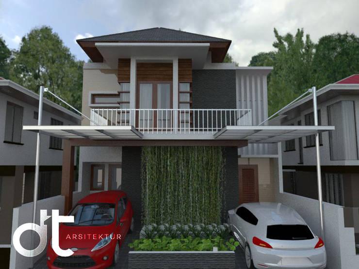 PROJECT CLUSTER VENICE BINTARO JAYA TANGERANG SELATAN:  Rumah by Rumah Desain Tropis