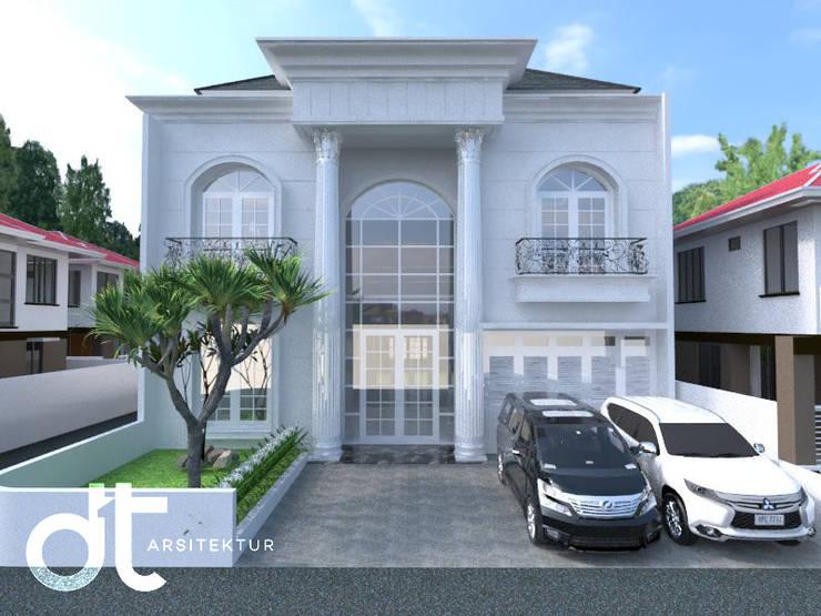 PROJECT JATI ASIH BEKASI: Rumah oleh Rumah Desain Tropis,