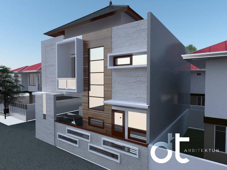 PROJECT VILLA BINTARO TANGERANG SELATAN:  oleh Rumah Desain Tropis,