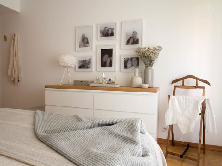 Bedroom by MUDA Home Design, Scandinavian
