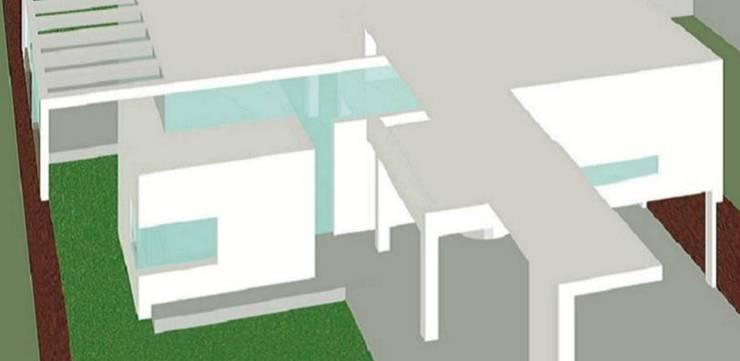 Casa Marcela y Horacio.: Casas unifamiliares de estilo  por Andrés Moroni  Arquitecto,