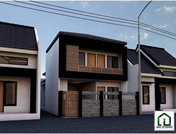 design fasade at klender jakarta timur:   by Aray Interindo