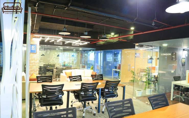 Coworking Space, Gurgaon:   by Woodofa Lifestyle Pvt. Ltd.