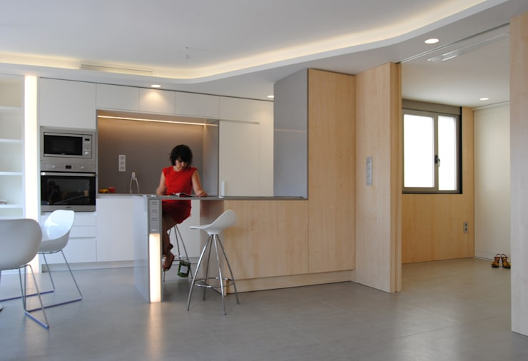 Dormitorios de estilo moderno por Loft26