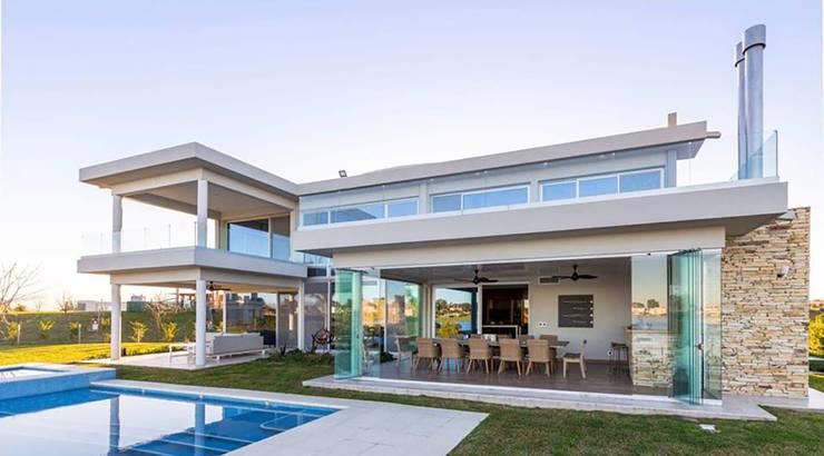 Casa La Reserva Cardales: Casas unifamiliares de estilo  por ARQCONS Arquitectura & Construcción
