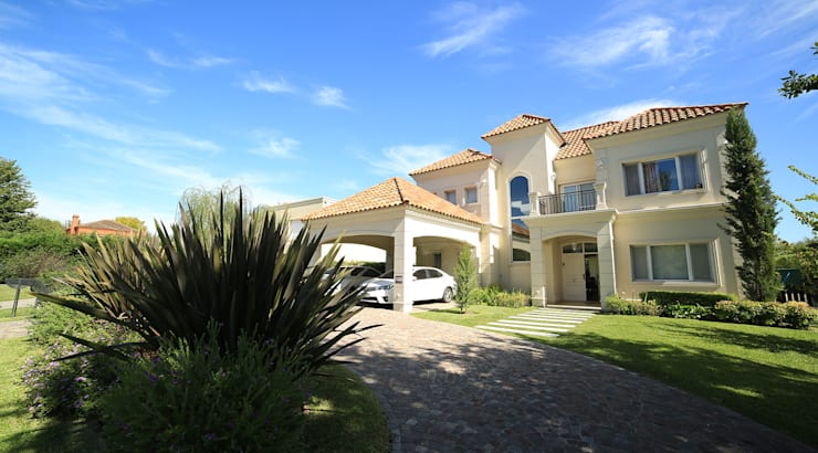 Casa Estancias del Pilar: Casas de estilo  por ARQCONS Arquitectura & Construcción,Moderno