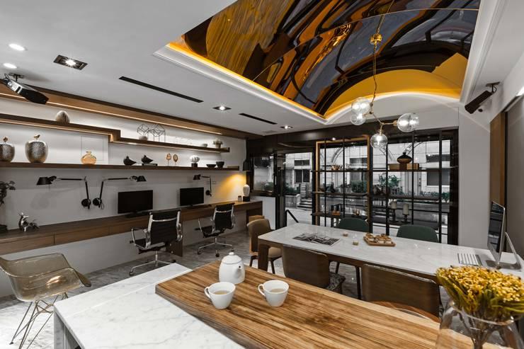 木質語彙:  書房/辦公室 by 京彩室內設計裝修工程公司