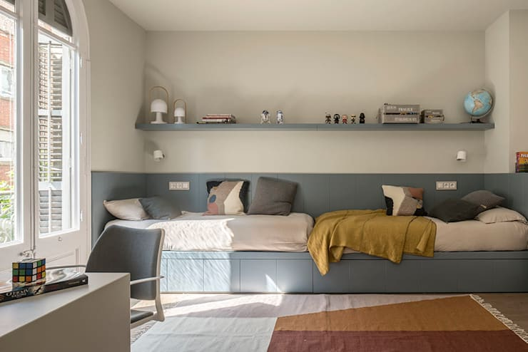 Boys Bedroom by The Room Studio