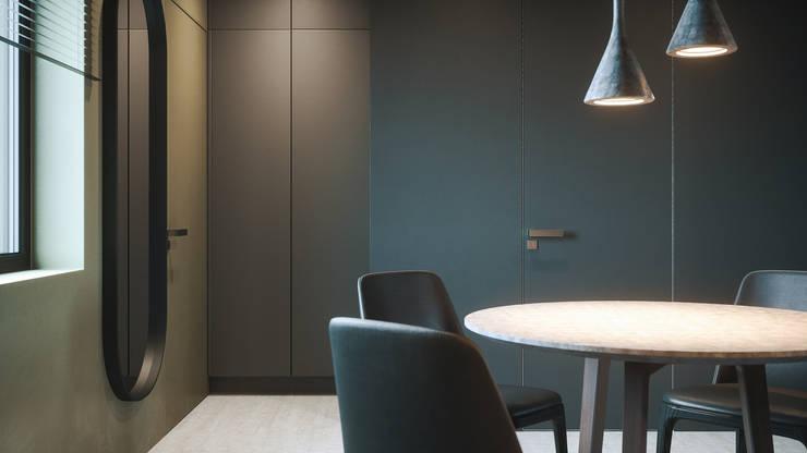 MONKEYS IN THE CITY 2: Столовые комнаты в . Автор – ANARCHY DESIGN, Минимализм