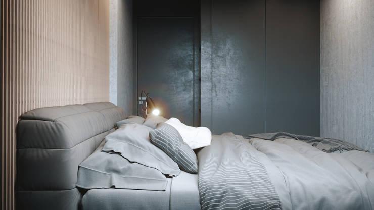 MONKEYS IN THE CITY 2: Спальни в . Автор – ANARCHY DESIGN, Минимализм