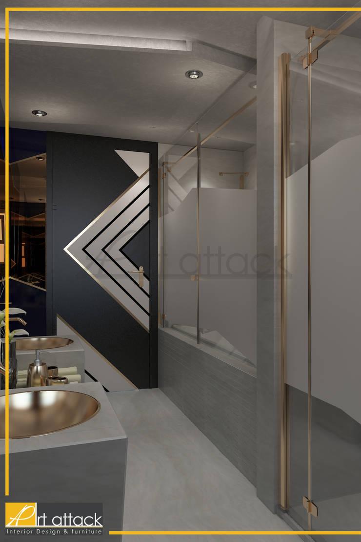 مشروع شقة حلوان:  تصميم مساحات داخلية تنفيذ Art Attack