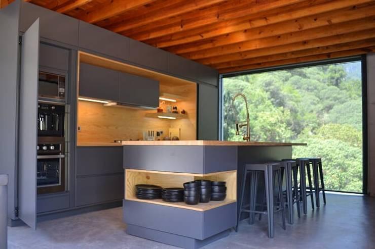 Diseño de cocinas minimalistas en Monterrey