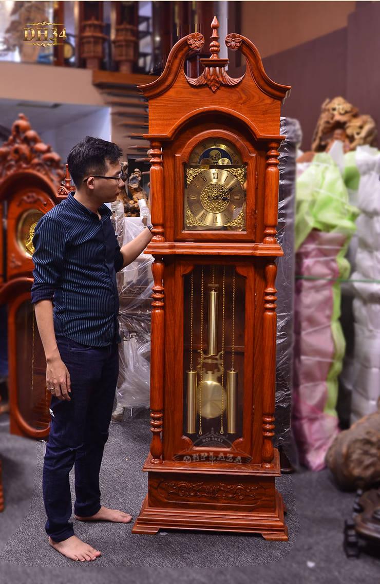 Ảnh thật sản phẩm đẹp sắc nét:   by Cửa hàng bán đồng hồ cây gỗ cao cấp ở Hà Nội