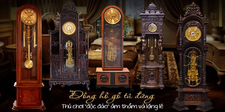 Tham khảo thêm các mẫu đồng hồ gỗ đẹp khác:   by Cửa hàng bán đồng hồ cây gỗ cao cấp ở Hà Nội