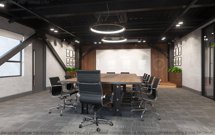 Thiết kế nội thất văn phòng OF1717:   by Bel Decor