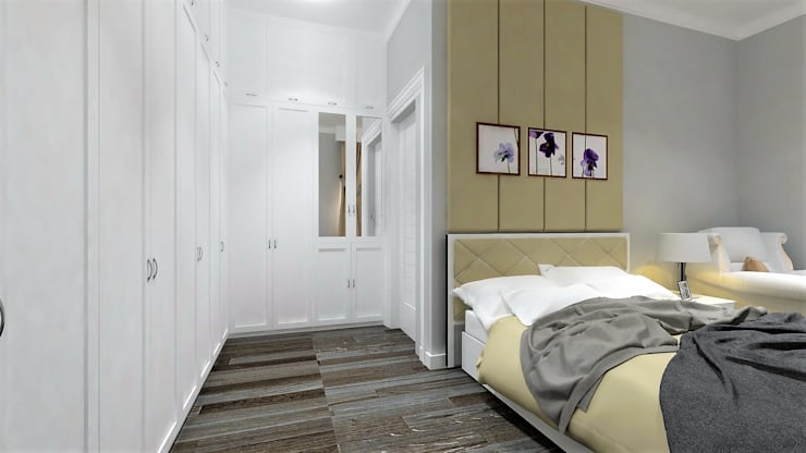 APARTMENT BSD:  Kamar Tidur by IFAL arch