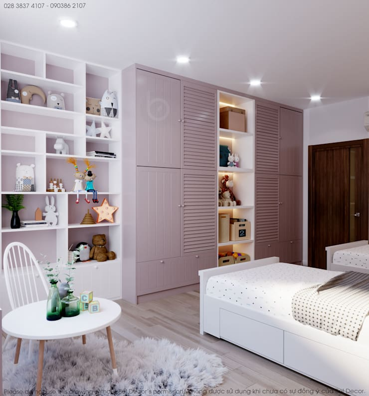 Thiết kế nội thất Penthouse HO17129:   by Bel Decor