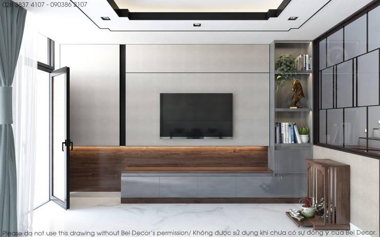 Thiết kế nội thất nhà phố HO1845:   by Bel Decor